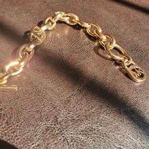 Michael Koors Rose Gold Chain Link Bracelet